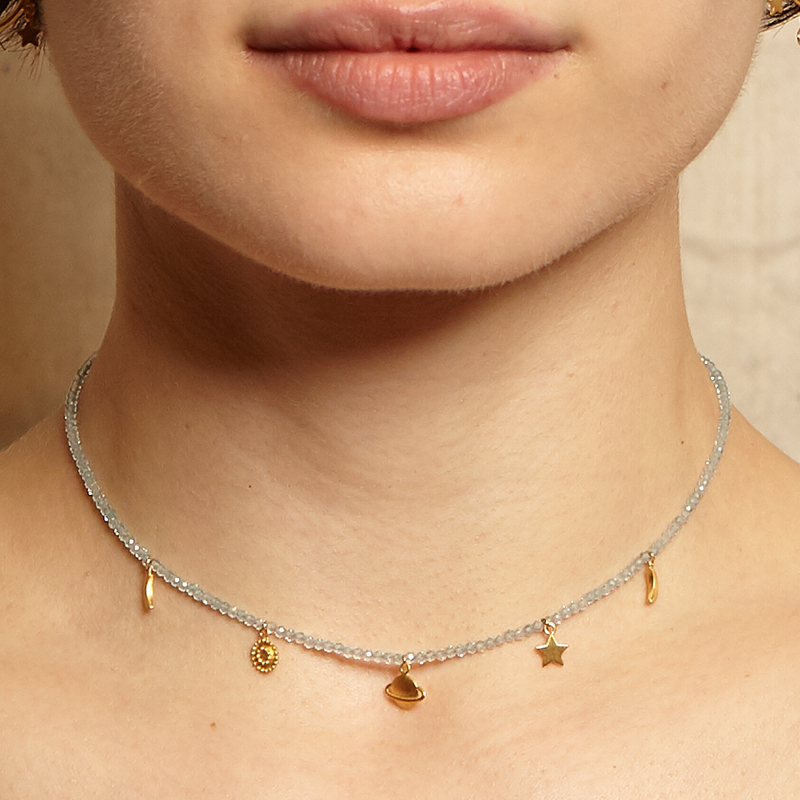 Gaining Clarity Necklace NG034-04-L14