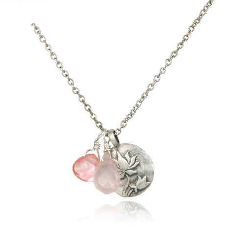 Breakthrough Rose, Cherry Quartz NS316-35-L18
