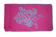Eye Pillow Pink Ganesha Turquoise
