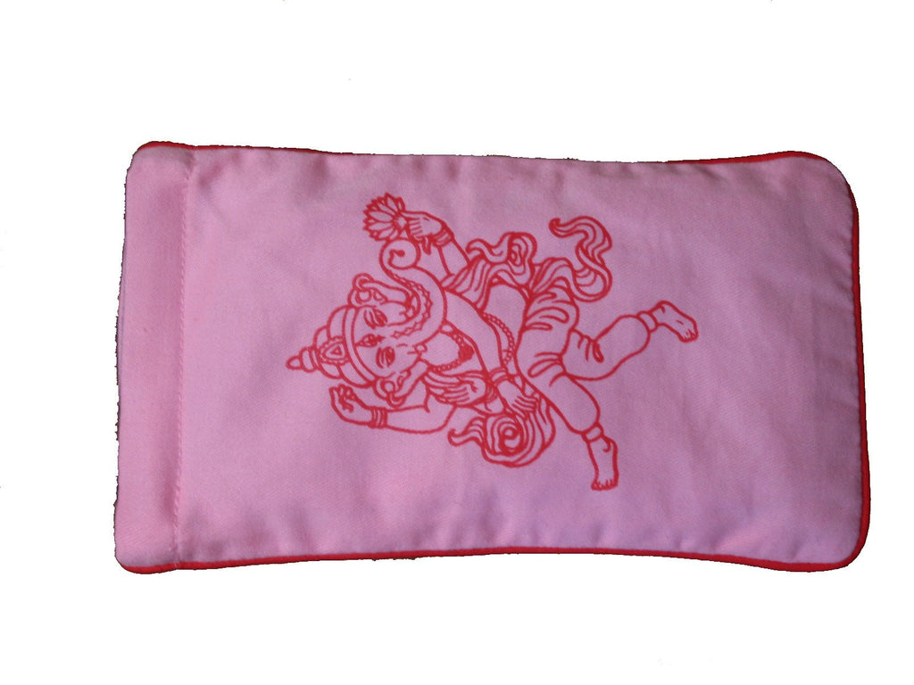 Eye Pillow Pink Ganesha Hot Pink