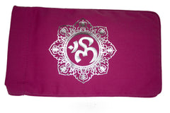 Eye Pillow Pink Shiva Mandala Foil