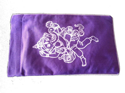 Eye Pillow Purple Ganesha Lilac