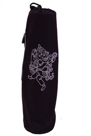 Yoga Mat Bag Purple Ganesha