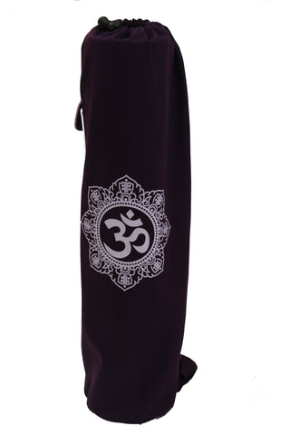 Yoga Mat Bag Purple Shiva Mandala