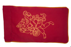 Eye Pillow Red Ganesha Orange