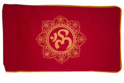 Eye Pillow Red Shiva Mandala Orange