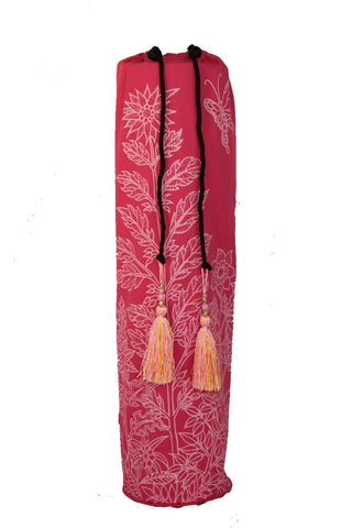 Yoga Mat Bag Secret Garden Collection Pink/Pink