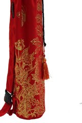 Yoga Mat Bag Secret Garden Collection Red/Gold Foil