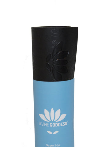 Super Yoga Mat Black