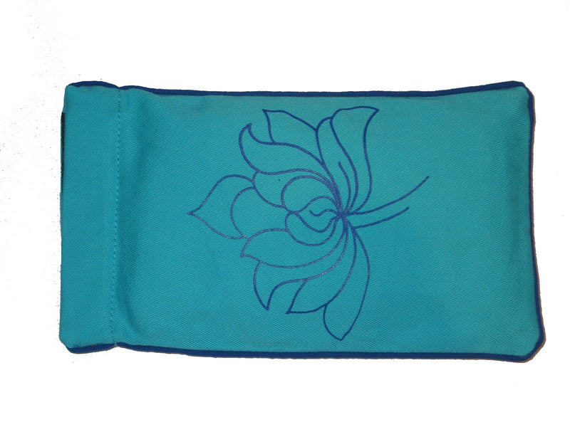 Eye Pillow Aqua Lotus 2 Navy