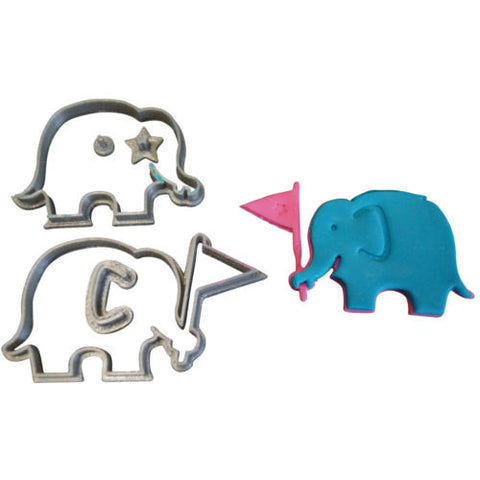 Elephant Cutter For Cake Decorating : Cookie and Fondant Cutters   Blizzard Sales