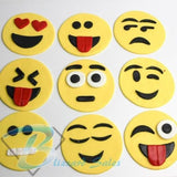 Emojis Full 20pc Set Cookie Fondant Cutter 5cm 7cm 10cm Create Every Emoji