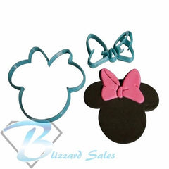 Minnie Mouse Cookie Fondant Cutter