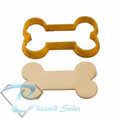Dog Bone Shaped Cookie Fondant Cutter made by Blizzard Sales