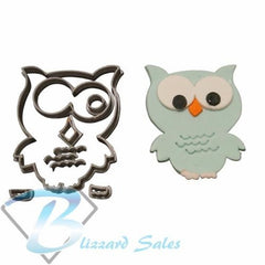 Owl Shape Cookie Fondant Cutter 5cm 7cm 10cm Set Birthday Cake Decorating Tools