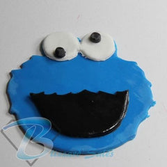 Cookie Monster Fondant Cutter 5cm 7cm 10cm Set Sesame Street Birthday Cake