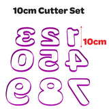 Alphabet Font Number Cutters