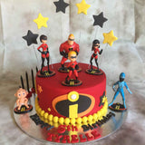 Incredibles Logo Cookie Fondant Cutter 4 Sizes Available
