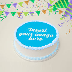 Custom Edible Image Print - Using YOUR Image - PreCut