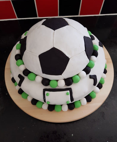 Soccer Ball Template Cookie Fondant Cutter
