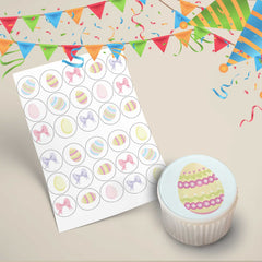 Easter Cupcake Toppers Design 2