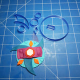 Beyblades Burst Inspired Cookie Fondant Cutter