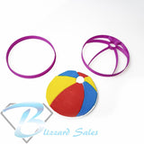 Beach Ball Fondant Cookie Cutter Birthday Cake Decorating Tool 5cm 7cm 10cm