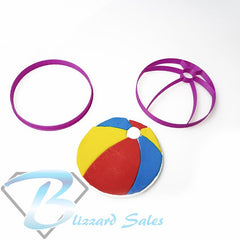 Beach Ball Fondant Cookie Cutter