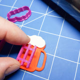 Beer Mug Cookie Fondant Cutter