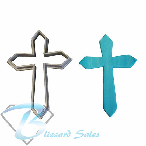 Cross Shaped Cookie Fondant Cutter 5cm 7cm 10cm Cake Decorating Tools 3 Designs