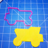 Dump Truck Construction Cookie Fondant Cutter