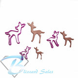 Fawn Baby Deer Shape Cookie Fondant Cutter