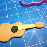 Guitar Accoustic Cookie Fondant Cutter