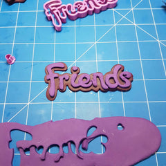 Lego Friends Logo Cookie Fondant Cutter