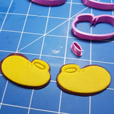 Mickey Mouse Shoes Cookie Fondant Cutter