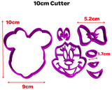 Minnie Mouse Face Disney Cookie Fondant Cutter from Blizzard Sales 10 cm
