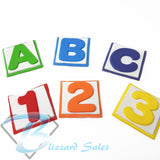 Alphabet Block Font Fondant Cookie Cutter