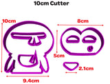 Penguin Shape Cookie Fondant Cutter 5cm 7cm 10cm Set Cake Decorating Tools