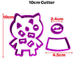 Pig Shape Cookie Fondant Cutter 5cm 7cm 10cm Set Birthday Cake Decorating Tools