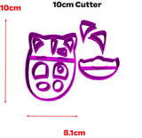 PJ Masks Cat Boy Cookie Fondant Cutter 5cm 7cm 10cm Set of 3 Sizes PJ Mask