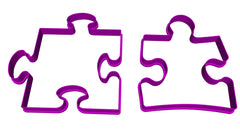 Puzzle Pieces Autism Awareness Cookie Fondant Cutters