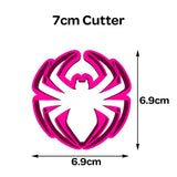 Spiderman Spider #1 Cookie Fondant Cutter 5cm 7cm 10cm Set Cake Decorating Tools