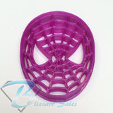 Spiderman Mask Cookie Fondant Cutter 5cm 7cm 10cm Set Birthday Cake Decorating