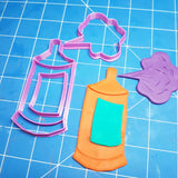 Spray Can Aerosol Cookie Fondant Cutter