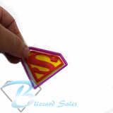 Superman Logo Cookie Fondant Cutter 5cm 7cm 10cm 13cm Set Birthday Cake