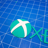 Xbox Logo and Word Cookie Fondant Cutter Set