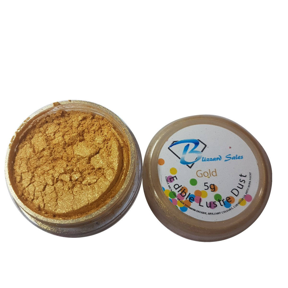 Edible Lustre Dusts and Edible Glitter - Premium Quality Edible Shimmer Powders 5gram
