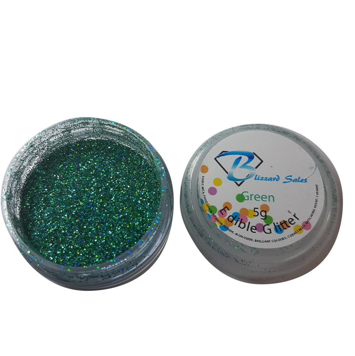 Edible Lustre Dusts and Edible Glitter - Premium Quality Edible Shimmer Powders full set