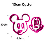 Mickey Mouse Face Cookie Fondant Cutter