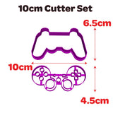PS3 Game Controller Cookie Fondant Cutter Embosser